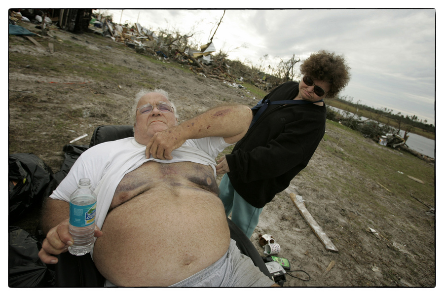 Homes were flattened, roofs chewed off.  : The Aftermath Sessions : Oklahoma City Editorial and Documentary Photographer