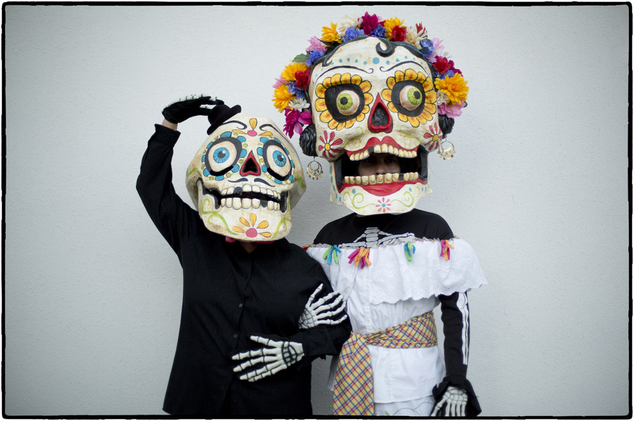 The holiday can be expensive, many families spend two month's income to honor the dead. : The Dia de los Muertos Sessions : Oklahoma City Editorial and Documentary Photographer