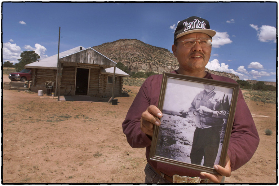 They drank water that would have triggered a Geiger counter. : Navajo Uranium : Oklahoma City Editorial and Documentary Photographer