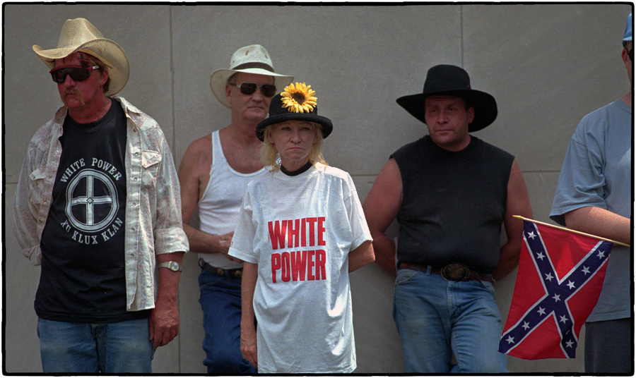 KKK rally : The Street Sessions : Oklahoma City Editorial and Documentary Photographer