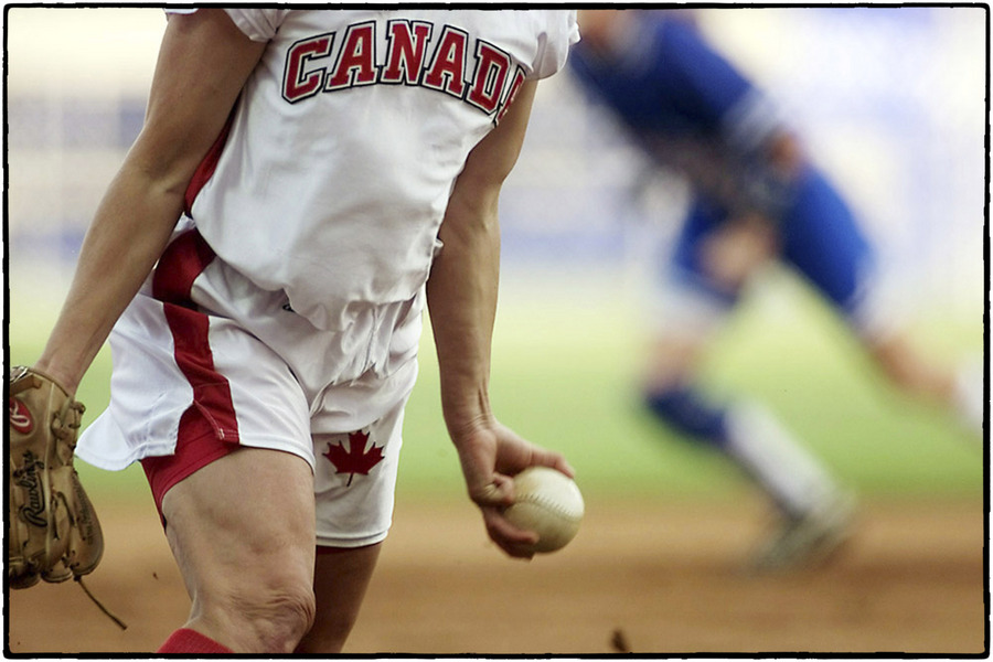 Olympic Softball : The Sports Sessions : Oklahoma City Editorial and Documentary Photographer