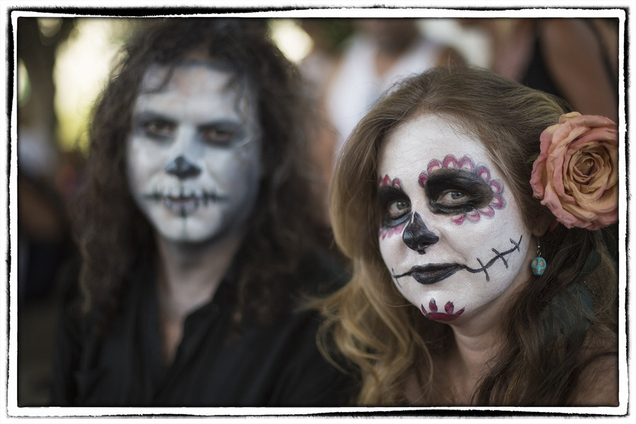 Some celebrate the day out of fear. : The Dia de los Muertos Sessions : Oklahoma City Editorial and Documentary Photographer