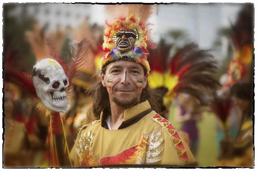 ....and the Aztec land of the dead has been lifted. : Dia de los Muertos  : Oklahoma City Editorial and Documentary Photographer