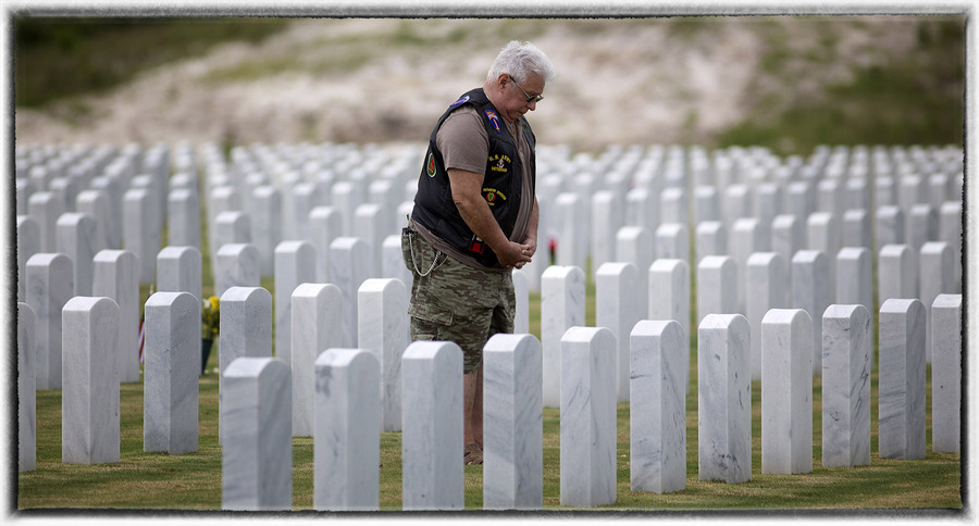 For others, healing is a process rather than an endpoint.  : Memorial Day : Oklahoma City Editorial and Documentary Photographer