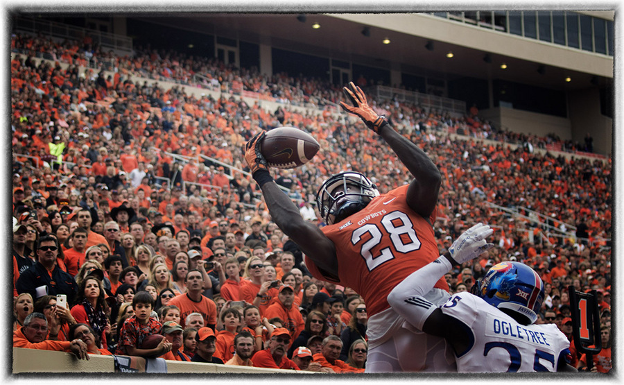 Oklahoma State football game action : The Sports Sessions : Oklahoma City Editorial and Documentary Photographer