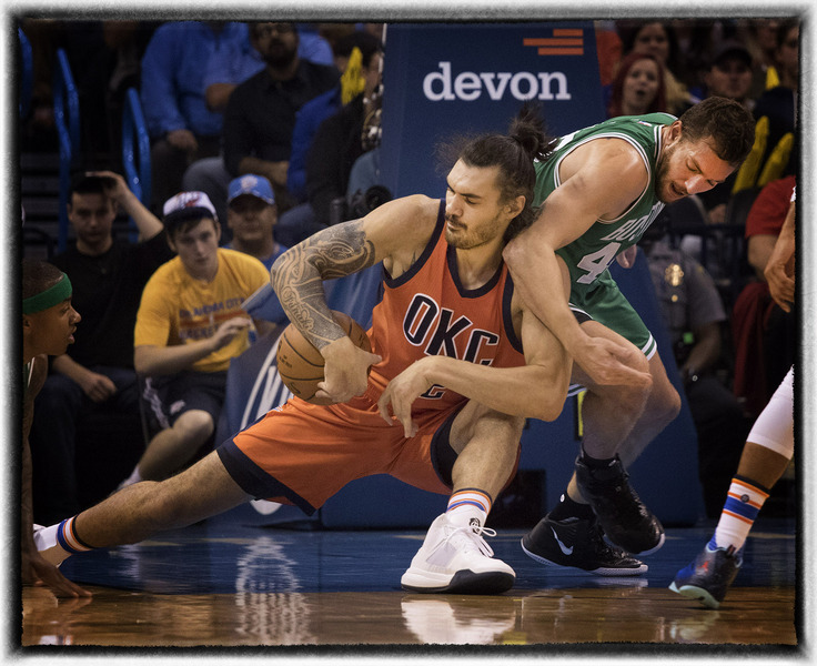 Celtics Thunder basketball : The Sports Sessions : Oklahoma City Editorial and Documentary Photographer