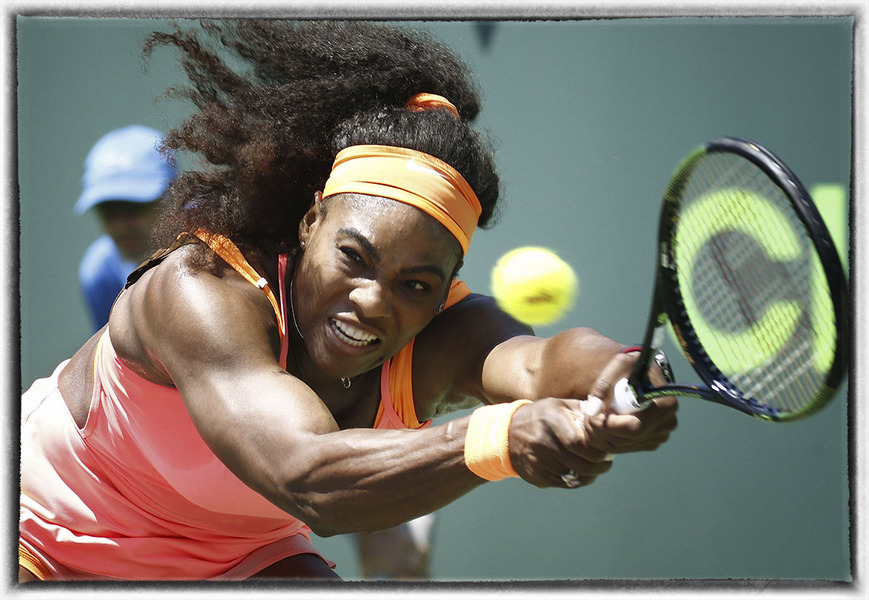 Serena Williams - Miami Open : The Sports Sessions : Oklahoma City Editorial and Documentary Photographer