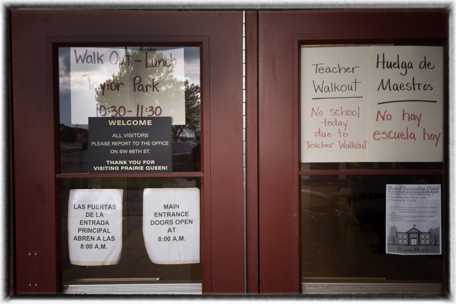 The state is dealing with a teacher shortage. Many Oklahoma schools are hiring teachers with temporary emergency certification and lack proper training.  : The Teachers' Strike Sessions : Oklahoma City Editorial and Documentary Photographer