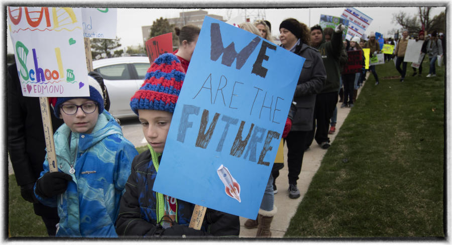 """It is about our kids"".  : The Teachers' Strike Sessions : Oklahoma City Editorial and Documentary Photographer"