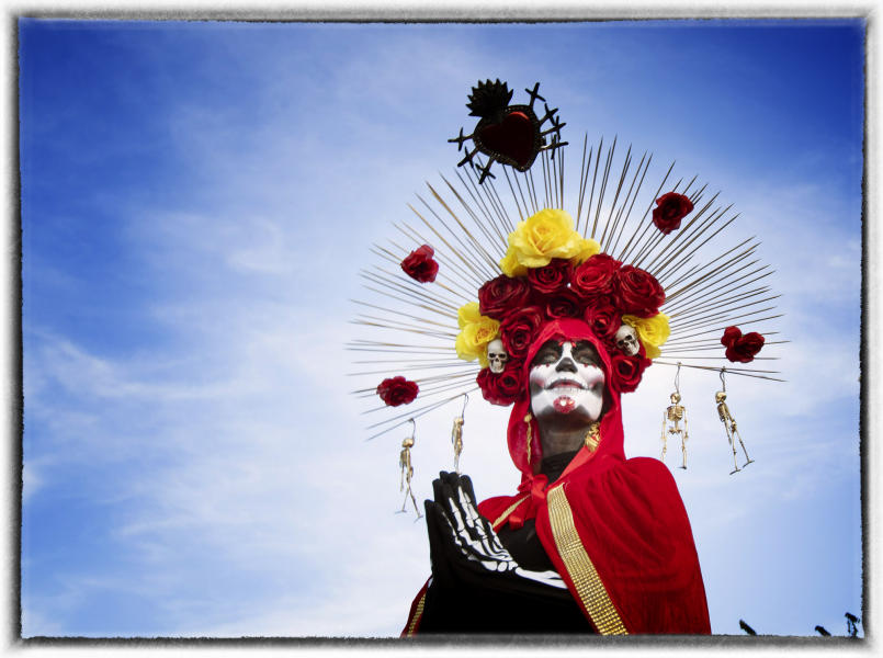 ....for 24 hours. : Dia de los Muertos  : Oklahoma City Editorial and Documentary Photographer