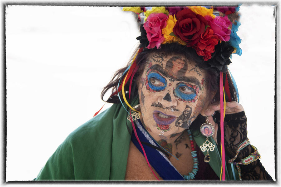 Mexico is rampant with folk tales that tell what happens if someone neglects their ancestors. : Dia de los Muertos  : Oklahoma City Editorial and Documentary Photographer